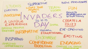 Invaders' Day at NSPCC