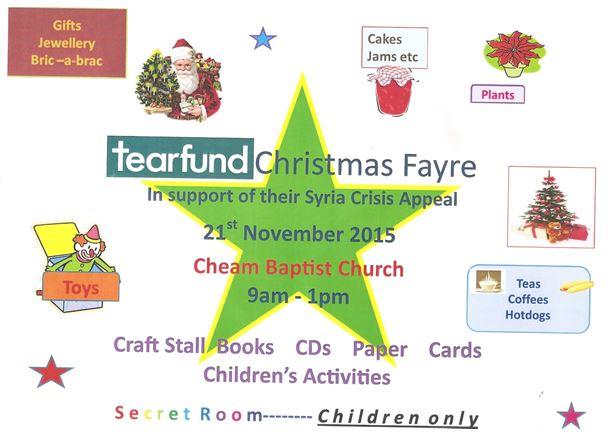 Children Craft Stall For Christmas Fayre