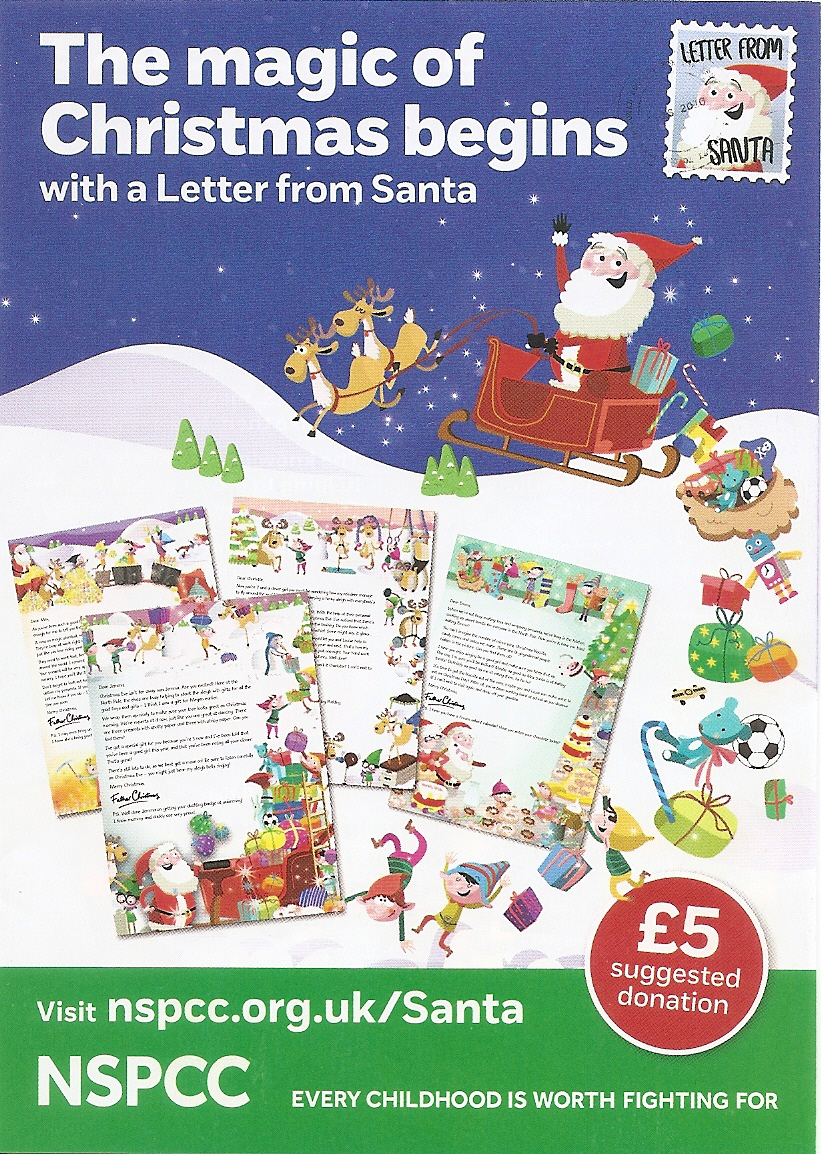 The magic of christmas begins sutton nspcc with a letter from santa spiritdancerdesigns Image collections